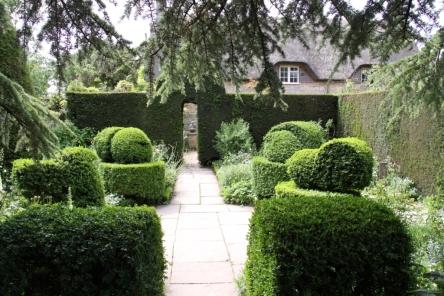 The White Garden at Hidcote