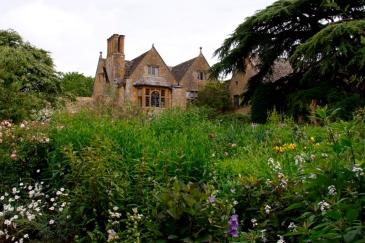 Hidcote Manor has a beautiful old Cedar tree