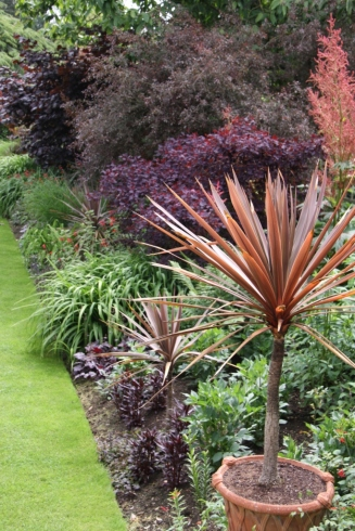 The world famous Red Borders at Hidcote