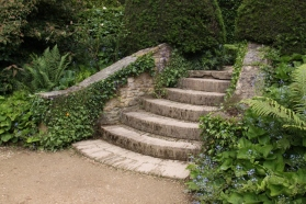 Even the steps are beautiful at Hidcote!