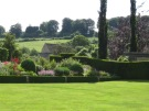 Bourton House Garden has views of the countryside beyond