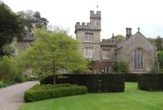 The formal entrance garden